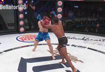 Cel mai tare KO al anului! Flying Knee-ul lui Tywan Claxton la debutul său în MMA (VIDEO)