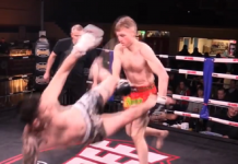 Cel mai neașteptat knockdown din Muay Thai (VIDEO)