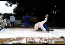 Judo în Angola. Ce se întâmplă când pasiunea pentru sport e mai importantă decât lipsa condițiilor (VIDEO)