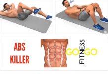 """Exerciții pentru abdomen. Cum să faci """"pătrățele"""" acasă într-un mod eficient (VIDEO)"""