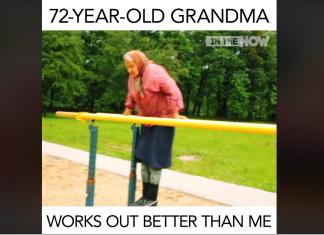 Bătrâna de 72 de ani care face mai mult sport decât tine! (VIDEO)