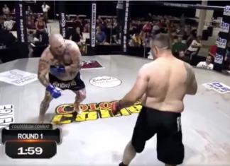 Caz incredibil în octogon! Un luptător a mimat o accidentare, după care aproape că și-a făcut adversarul TKO, în final renunțând la luptă! (VIDEO)